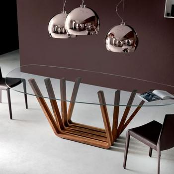 Tavolo CATTELAN ITALIA modello Domino base legno a Verona.