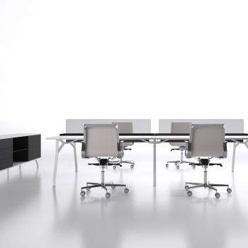 Arredamento ufficio DOIMOFFICE scrivania Iron System a Verona.