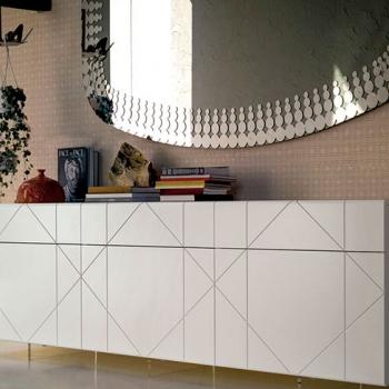 Madia contenitore CATTELAN ITALIA modello Tropez legno chiaro lucido a Verona.