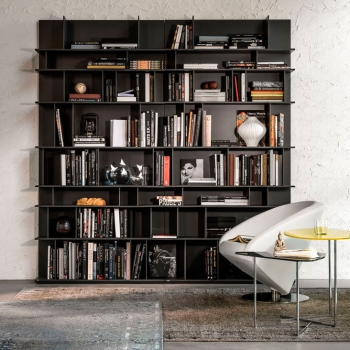 Libreria CATTELAN ITALIA modello Wally legno scuro a Verona.