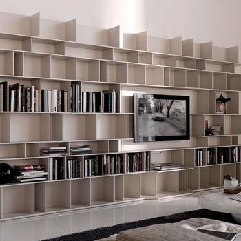 Libreria CATTELAN ITALIA modello Wally legno chiaro a Verona.
